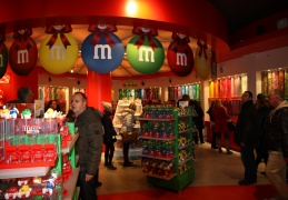 M&M's store in Leicester Square