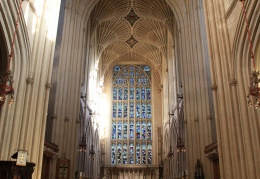 Inside Bath Abbey