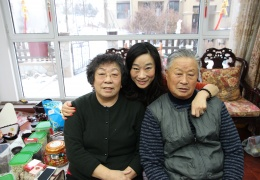Elsa's aunt and grandparents